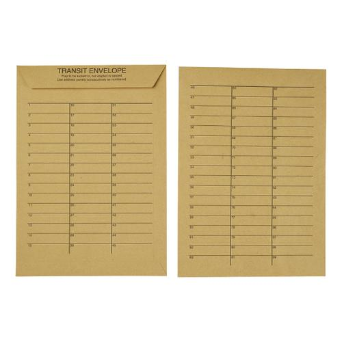 5 Star Office Envelopes Internal Mail Pocket Resealable 90gsm C4 324x229mm Manilla [Pack 250]