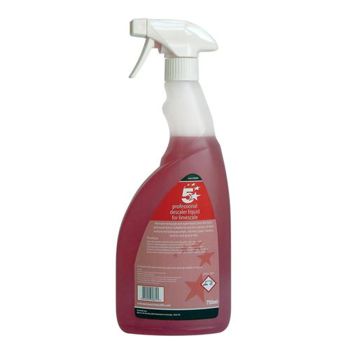 5 Star Facilities Professional Descaler Liquid For Limescale 750ml