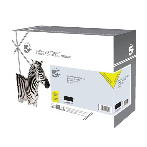 5 Star Office Reman Laser Toner Cart Page Life 3000pp Black [Samsung MLT-D203S SU907A Alternative]
