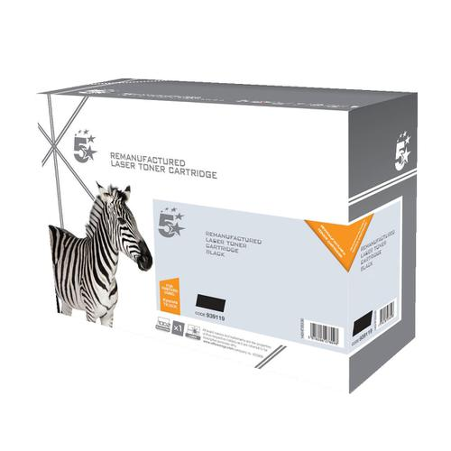 5 Star Office Remanufactured Laser TonerCartridge Page Life 3500pp Black [Kyocera 1T02KT0NL0 Alternative]