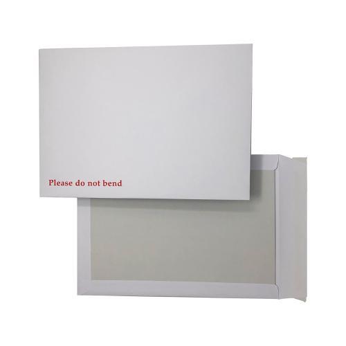 5 Star Boardback Pocket Envelope 120g Peel & Seal C4 White [Pack 125]