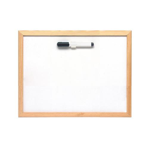 5 Star Lightweight Drywipe Board W400xH300mm Pine Frame