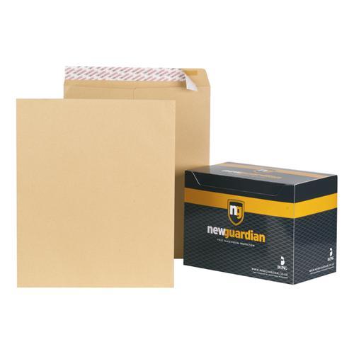 New Guardian Envelopes FSC Pocket Peel & Seal Heavyweight 130gsm 444x368mm Manilla Ref  [Pack 125]