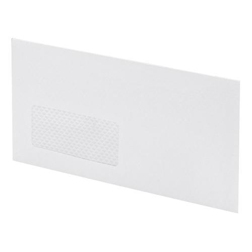 Postmaster Envelopes PEFC Mailing Machine Wallet Gummed with Window 90gsm DL 114x235mm White [Pack 500]