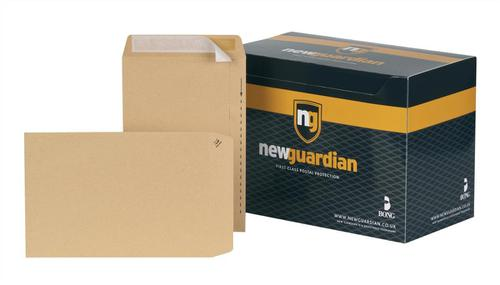 New Guardian Envelopes FSC Pocket Peel & Seal Heavyweight 130gsm 254x178mm Manilla Ref  [Pack 250]