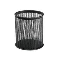 5 Star Office Pen Pot Wire Mesh DiaxH: 80x95mm Black