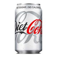 Coca Cola Diet Coke Soft Drink Can 330ml Ref N000978 [Pack 24]