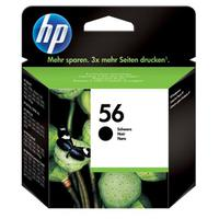 Hewlett Packard [HP] No.56 Inkjet Cartridge Page Life 520pp 19ml Black Ref C6656AE