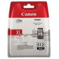 Canon PG-512 Inkjet Cartridge High Yield Page Life 401pp 15ml Black Ref 2969B001AA