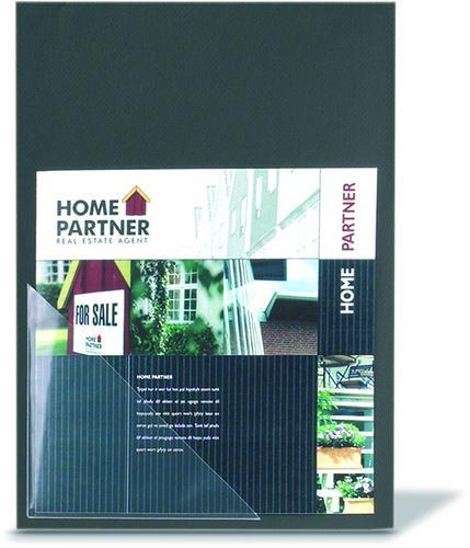 3L Self Adhesive Corner Pocket Polypropylene 170x170mm Clear (Pack 100) 10024
