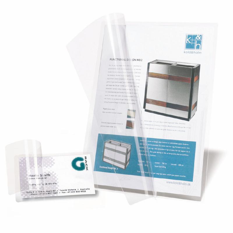 3L Self Laminating Card Polypropylene A7 (Pack 100) 11034