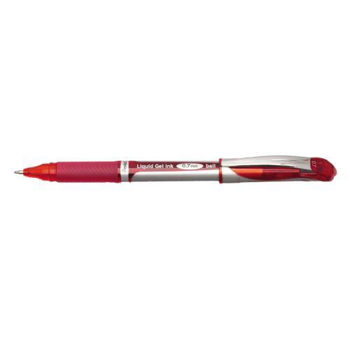 Pentel Energel XM Gel Rollerball Fine Tip 0.7mm Red PK12
