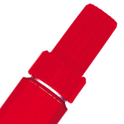 Pentel N50 Permanent Marker Bullet Tip 1.5-2mm Line Red Ref N50-B [Pack 12]