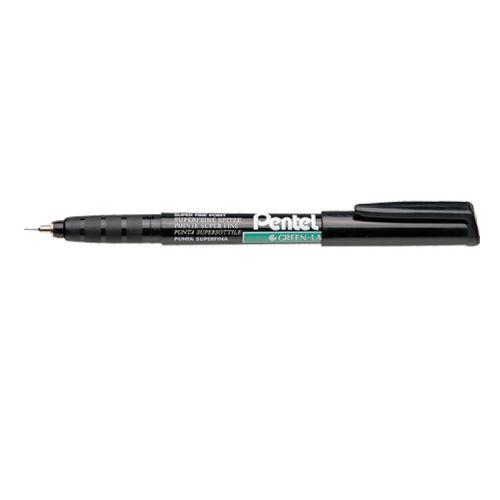 Pentel Permanent Marker Superfine Black PK12