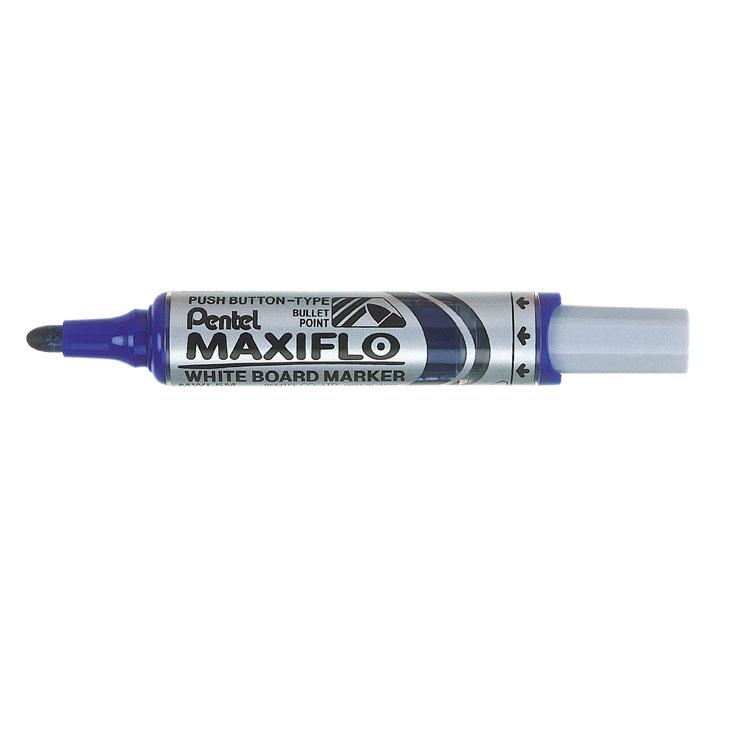 Pentel Maxiflo WB Marker BT BL PK12