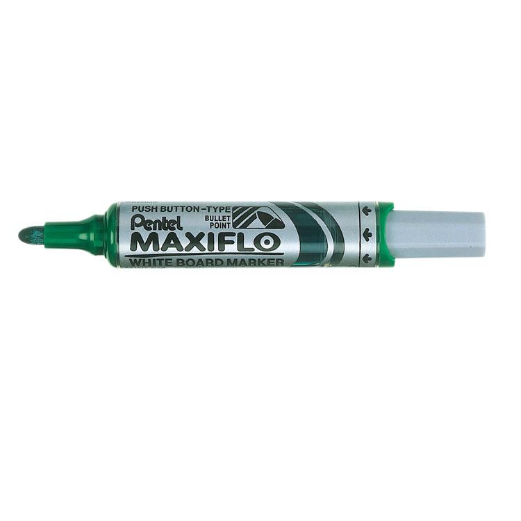 Pentel Maxiflo WB Marker BT GR PK12
