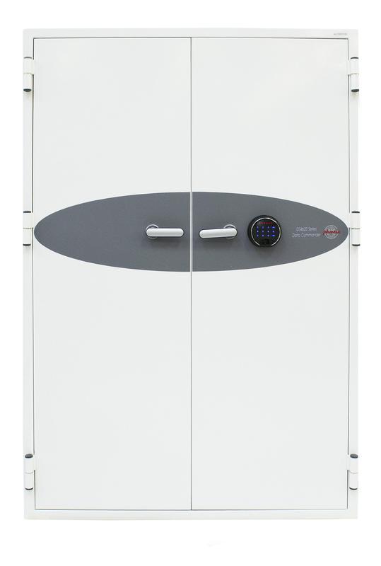 Phoenix Data Commander Size 3 Data Safe Fingerprint Lock White DS4623F