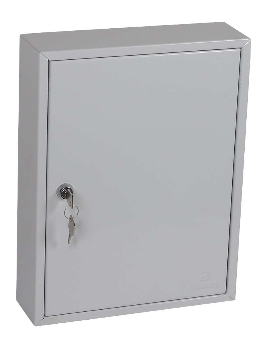 Key Cabinets Phoenix Commercial Key Cabinet 42 Hook with Key Lock.
