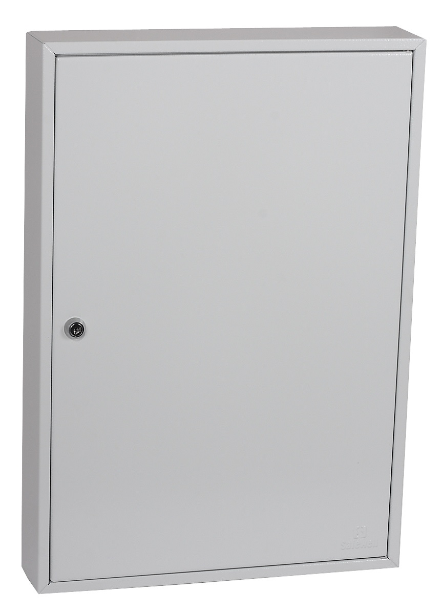 Key Cabinets Phoenix Commercial Key Cabinet 100 Hook with Key Lock.