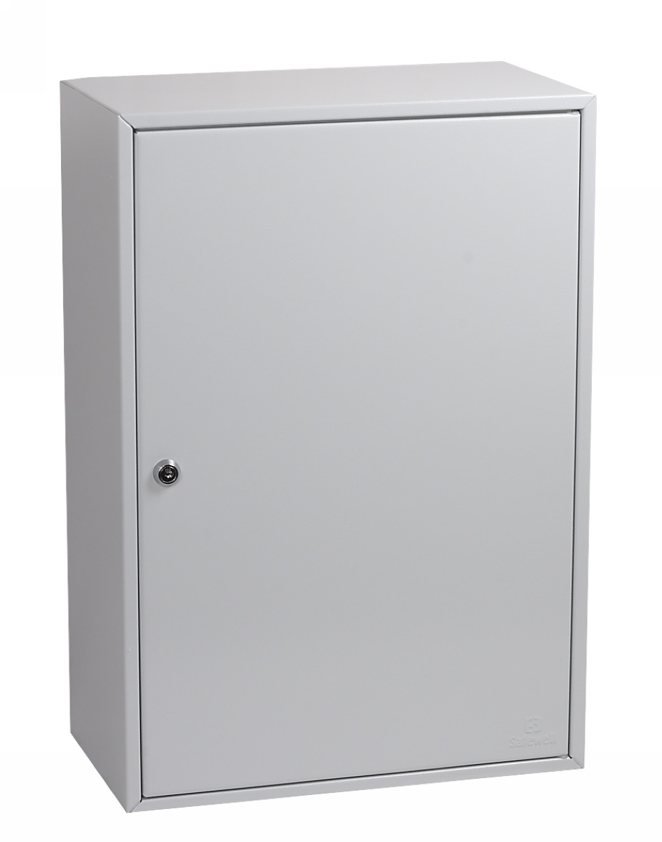 Key Cabinets Phoenix Commercial Key Cabinet 300 Hook with Key Lock.