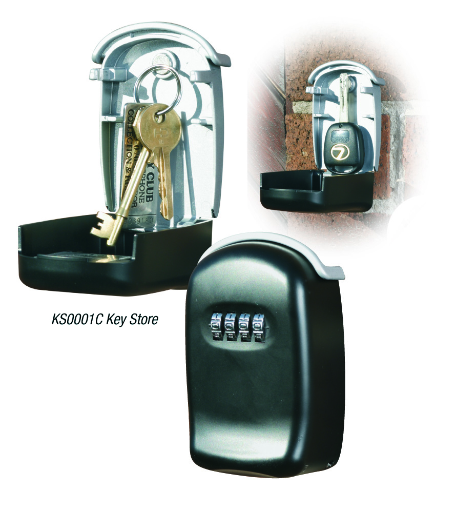 Key Store Phoenix Key Store Size 1 Key Safe with Combination Lock