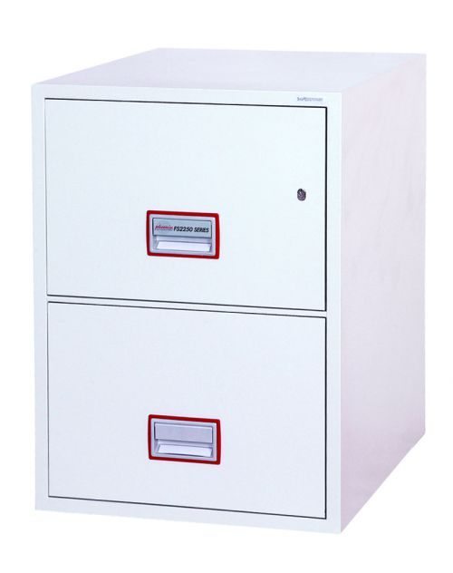 Phoenix Vertical Fire File 2 Drawer Filing Cbnet Key Lock