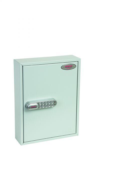 Phoenix Commercial Key Cabinet 42 Hook Electronic Lock.