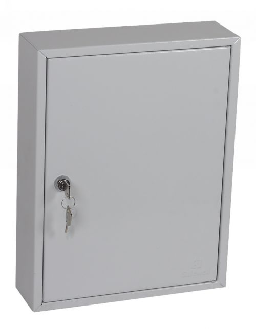 Image for Phoenix Commercial Key Cabinet 42 Hook with Key Lock.