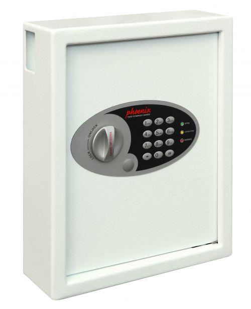 Phoenix Cygnus Key Deposit Safe 48 Hook Electronic Lock