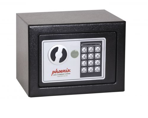 Phoenix Compact Home Office Safe Electronic Lock Black