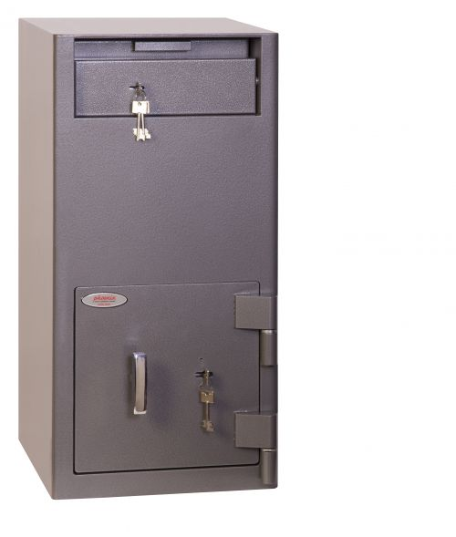 Phoenix Cash Deposit Size 2 Security Safe with Key Lock