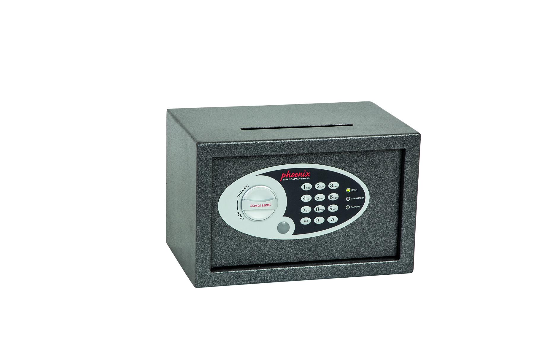 Key Store Phoenix Vela dposit Home & Office sz 1 Safe Elctrnic Lock