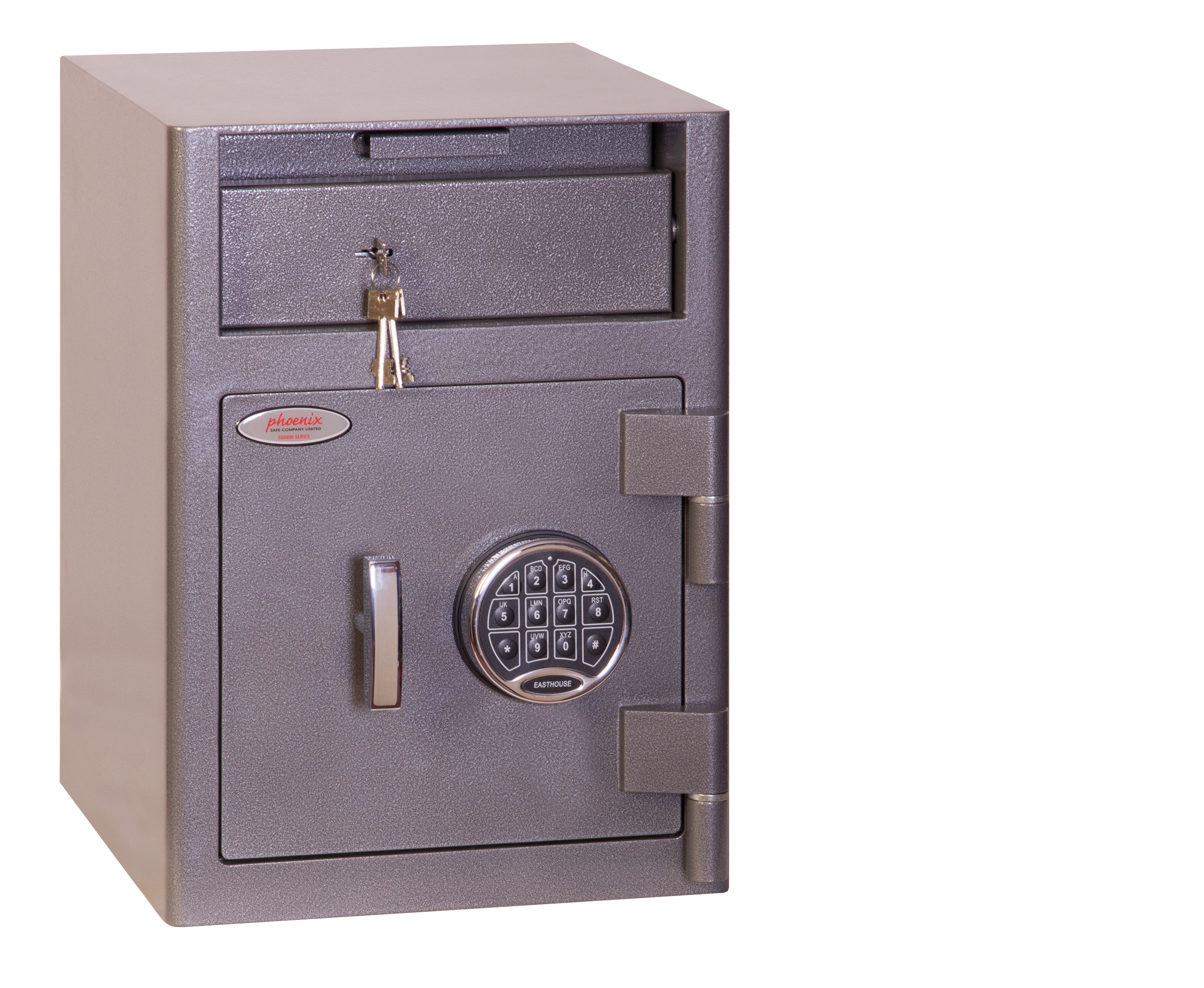 Safes Phoenix Cash Deposit Size 1 Security Safe Elctrnic Lock