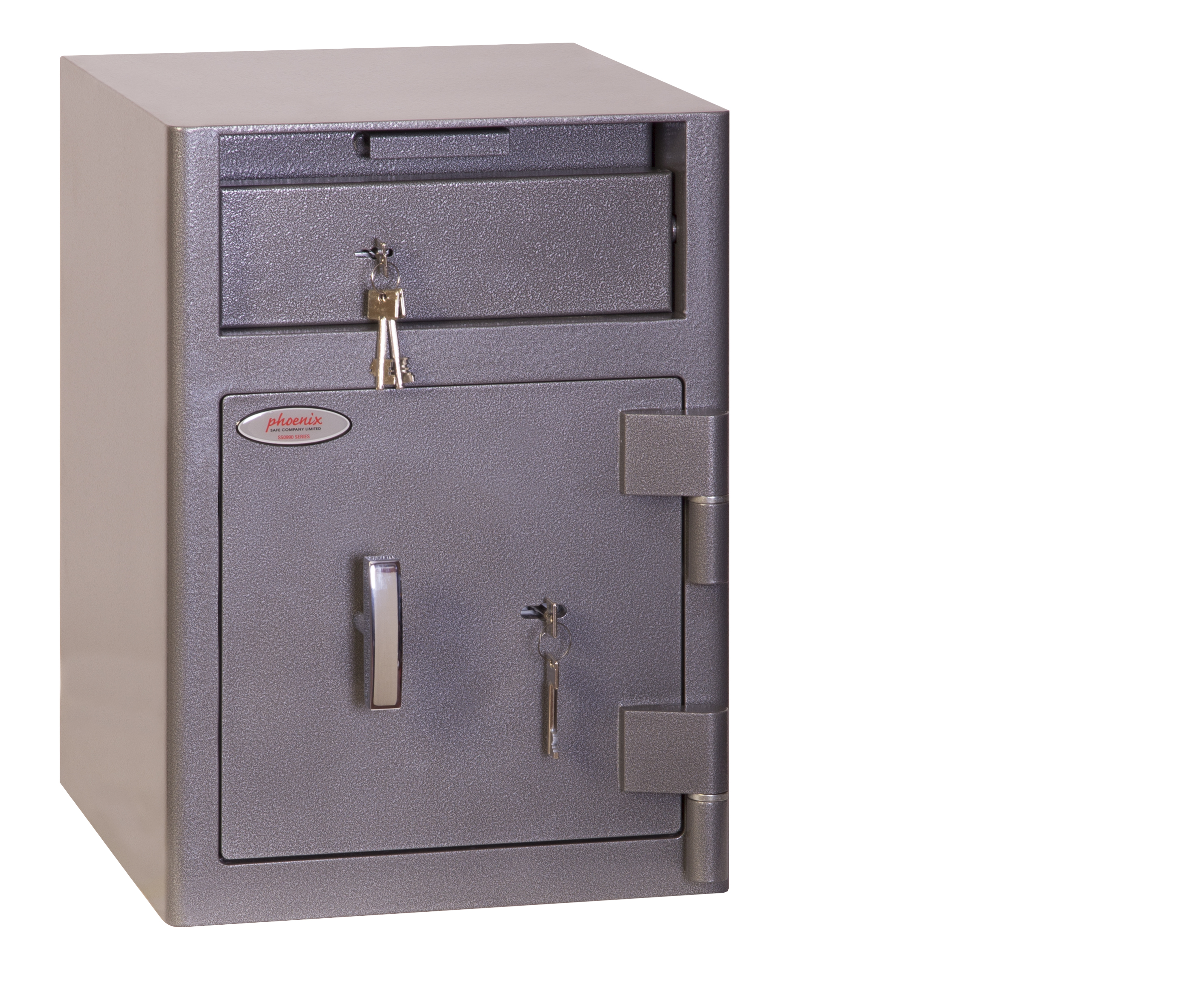 Safes Phoenix Cash Deposit Size 1 Security Safe with Key Lock