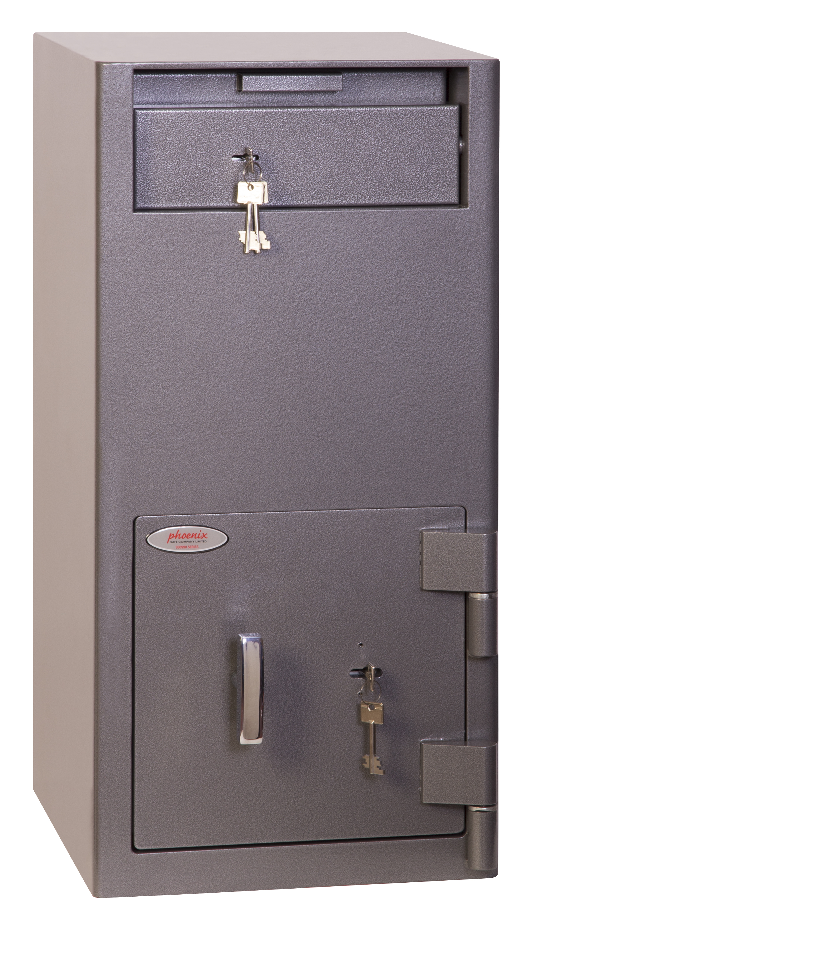 Safes Phoenix Cash Deposit Size 2 Security Safe with Key Lock