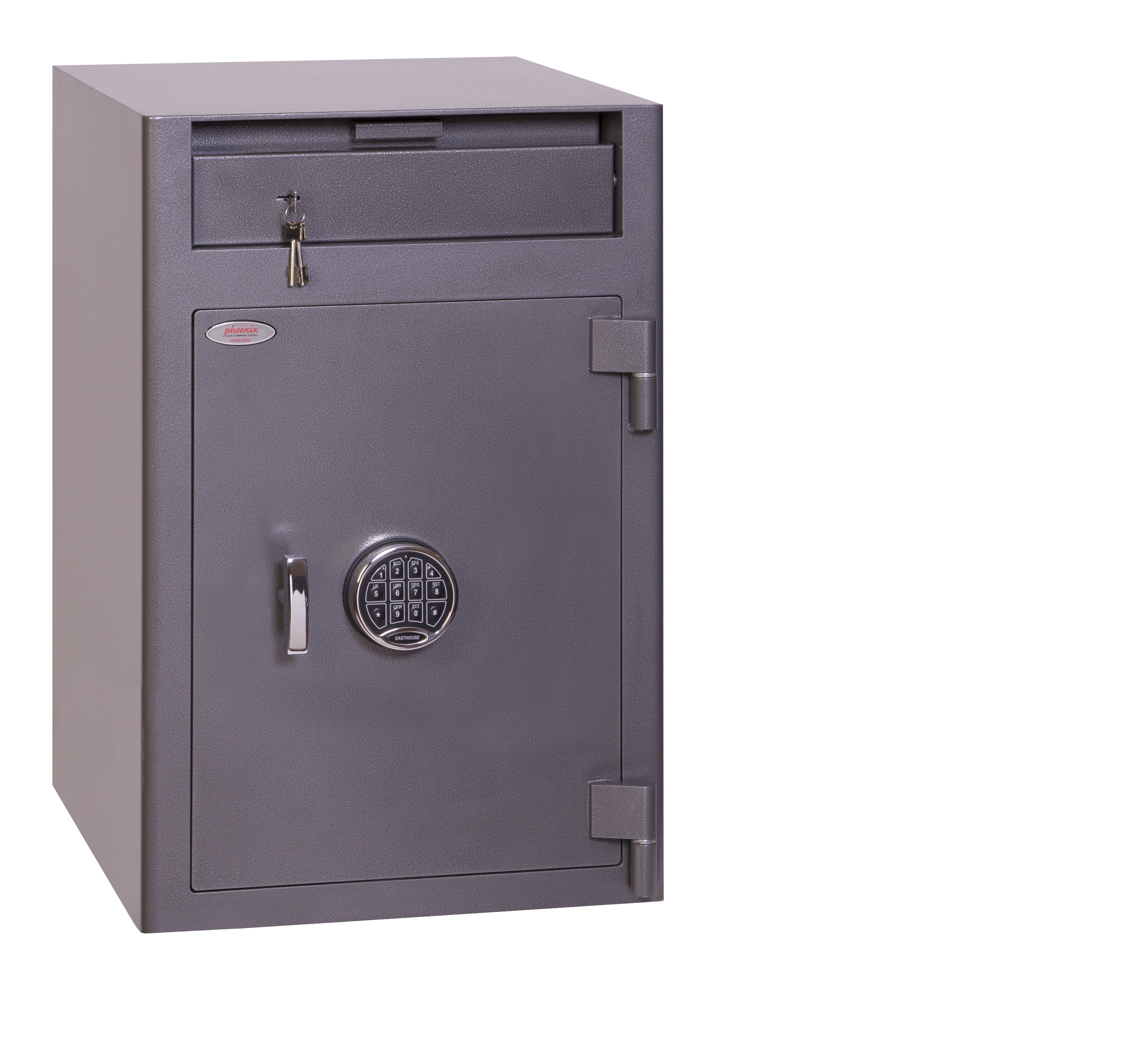 Safes Phoenix Cash Deposit Size 3 Security Safe Elctrnic Lock