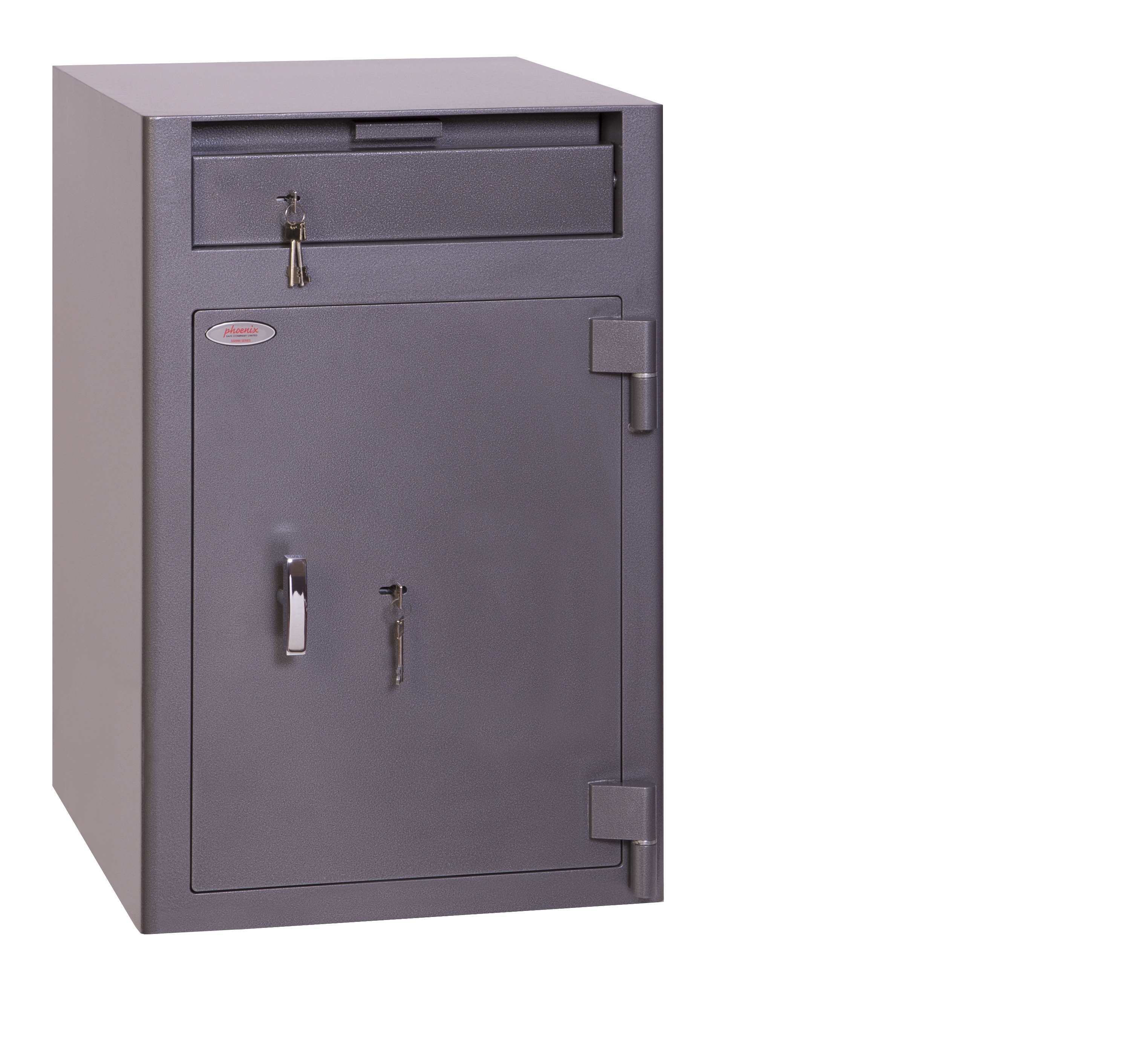 Key Store Phoenix Cash Deposit Size 3 Security Safe with Key Lock