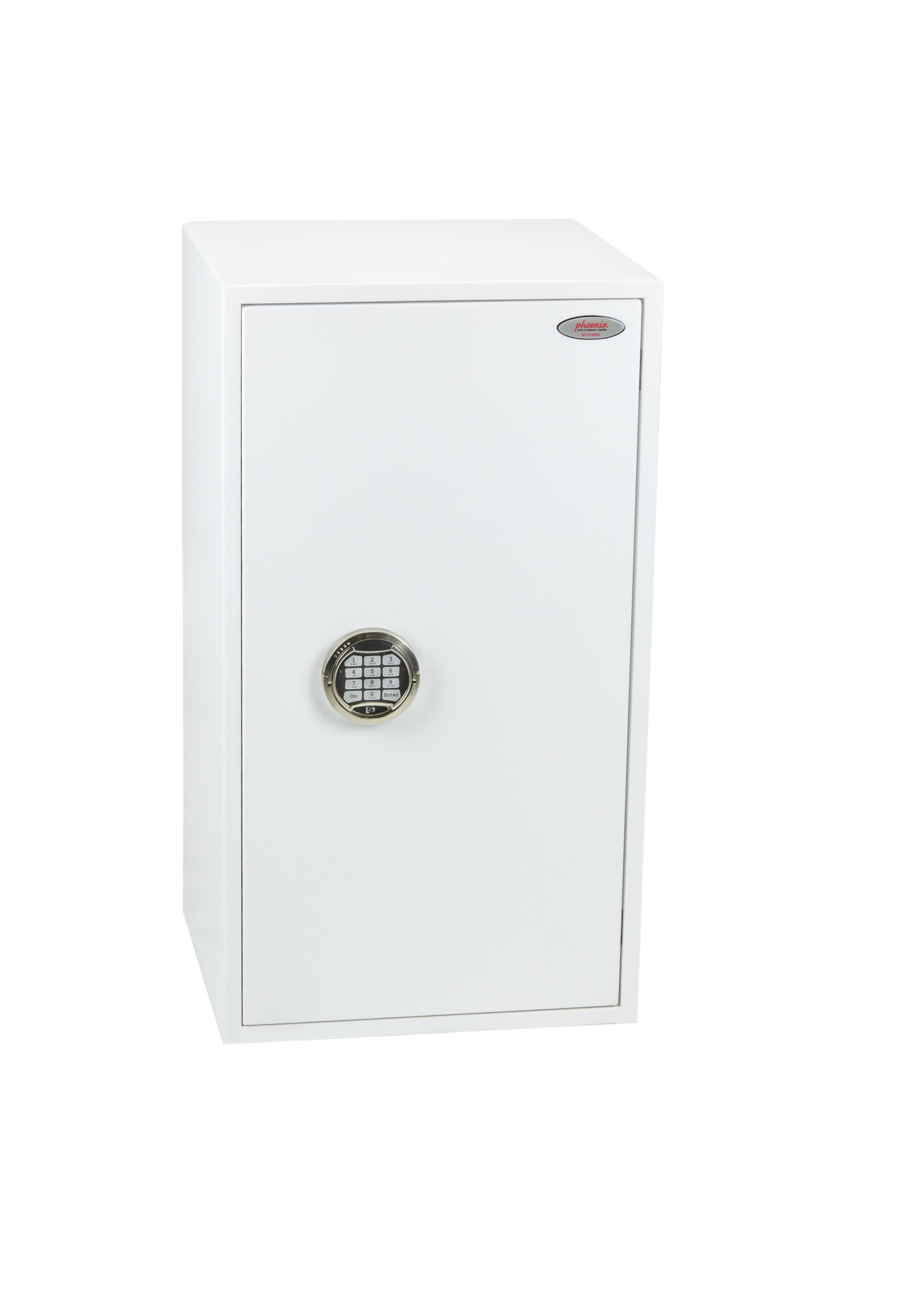 Safes Phoenix Fortress Size 4 S2 Security Safe Electronic Lock White SS1184E