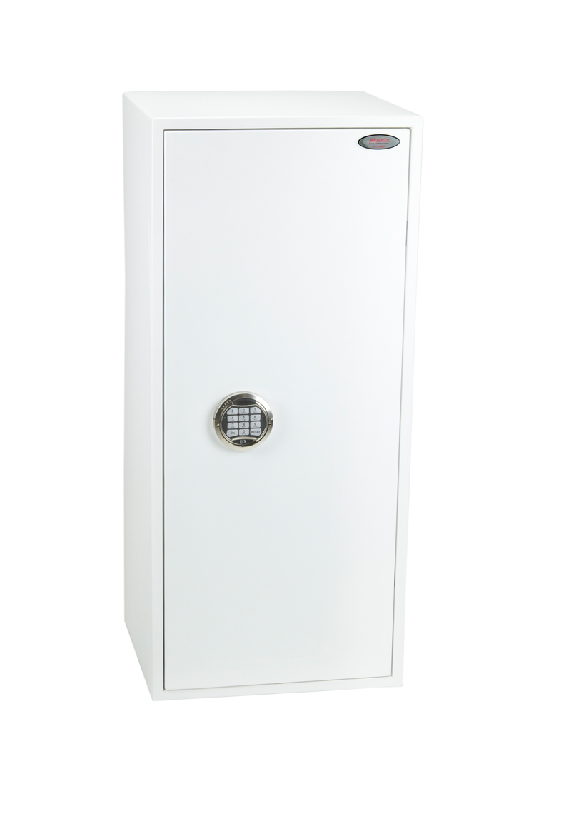 Phoenix Fortress Size 5 S2 Security Safe Electronic Lock White SS1185E