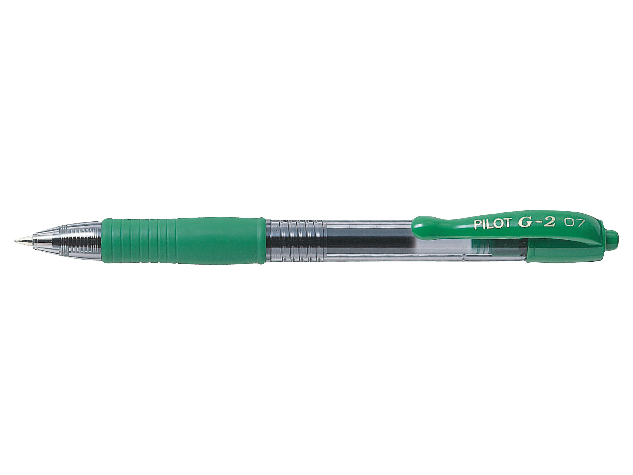 Pilot G207 Green Gel Retractable 0.7mm PK12
