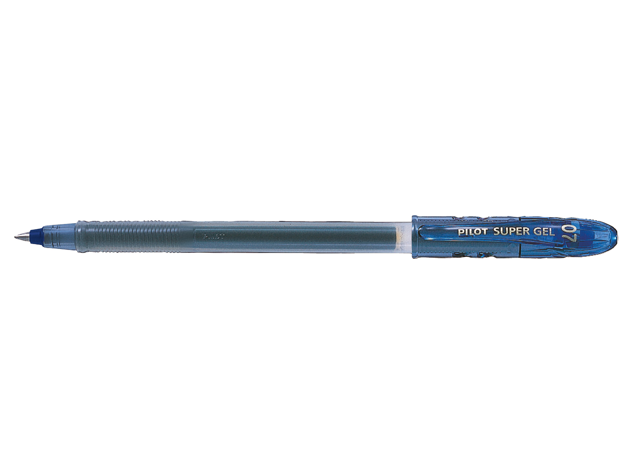 Pilot BegreeN Supergel Rollerball Pen Gel 0.7 Tip 0.39mm Line Blue Ref LS8FLBG [Pack 10]