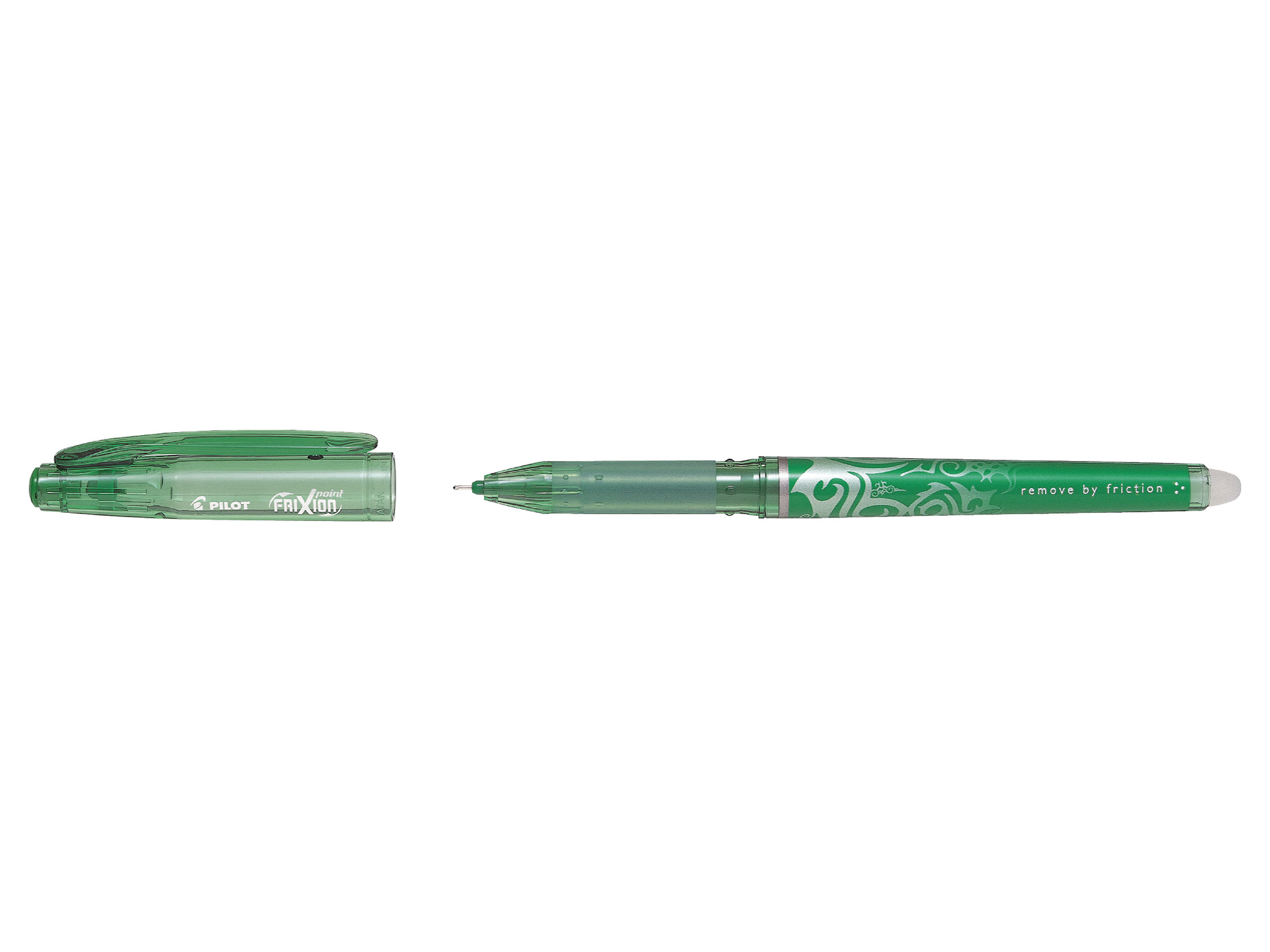 Pilot FriXion Point Green Erasable fine PK12