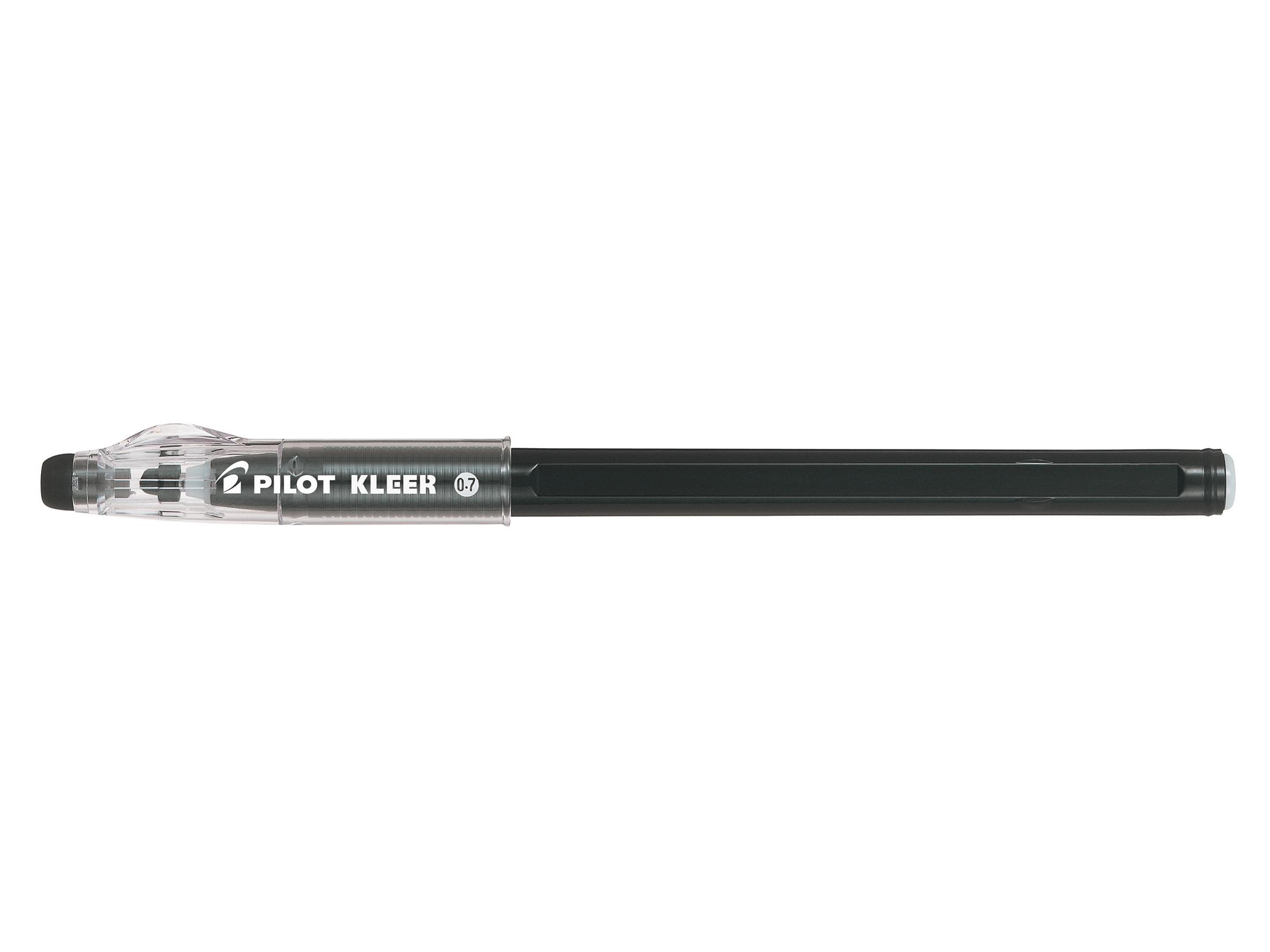 Pilot Kleer Erasable Bllpnt BK PK12