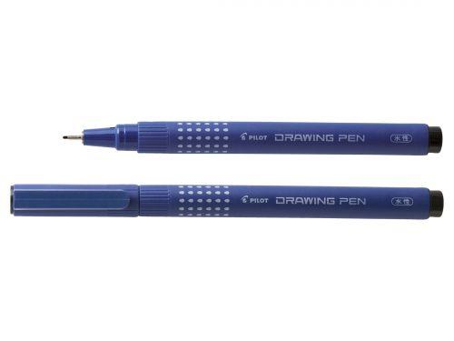 Pilot 03 Drawing Pen 0.4mm Black (Pack of 12) DR0301