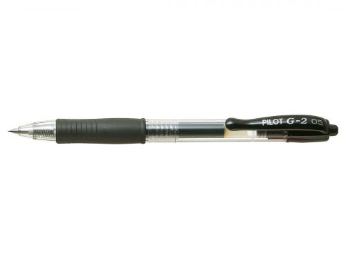 Pilot G205 Black Gel Retractable 0.5mm PK12