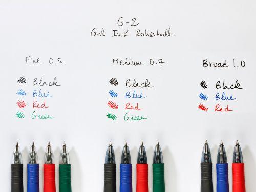 Pilot G205 Gel Rollerball Pen Rubber Grip Retractable 0.5mm Tip 0.3mm Line Black Ref BLG20501 [Pack 12]