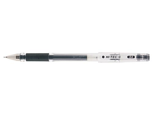 Pilot Begreeen Hi-Tec C Grip Rollerball 0.4mm Black PK10