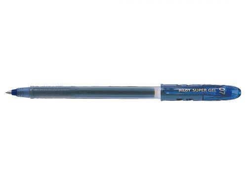 Pilot BegreeN Supergel Rollerball Pen Gel 0.7 Tip 0.39mm Line Blue Ref LS8FLBG [Pack 10]