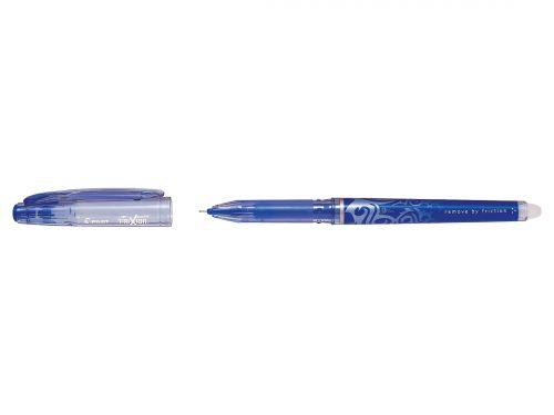 Pilot FriXion Point Hi-Tecpoint R/ball Pen Erasable 0.5mm Tip 0.25mm Line Blue Ref 227101203 [Pack 12]