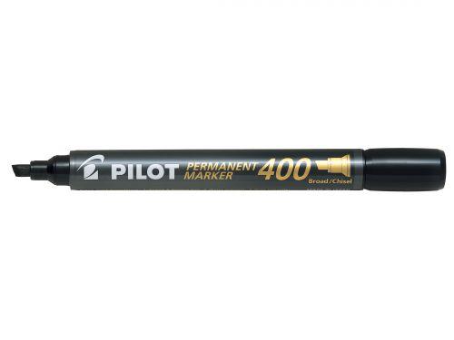 Pilot Permanent Marker 400 Chisel XXL Black PK20 (5 Free)